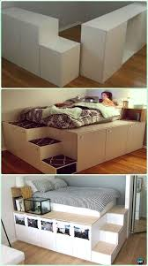 Ikea Brusali Wardrobe Instructions by Oltre 25 Fantastiche Idee Su Ikea Bed Frames Su Pinterest