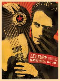 Joe Strummer Mural Address by Let Fury Have The Hour Book Poster Obey Giant
