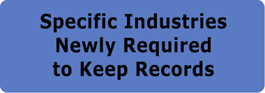 kentucky labor cabinet recordkeeping and reporting requirements