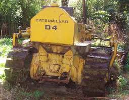 d4 cat dozer caterillar d4 7u series bulldozer
