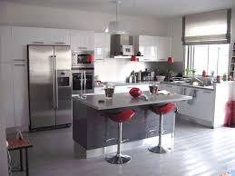 cuisine gris et noir cuisine blanc et noir cuisine blanche noir et bois massilia