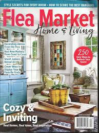 100 Home Decorating Magazines Free Amazoncom FLEA MARKET HOME LIVING MAGAZINE COZY