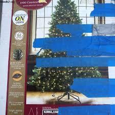 Plain Tree Amazing Pre Lit Rotating Artificial Christmas Trees Kirkland Signature
