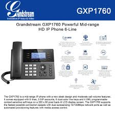 Grandstream GXP1760 Powerful Mid-range HD IP Phone 6-Line, 3 SIP ... Grandstream Gxp2140 Enterprise Ip Phone Dp760 Dect Cordless Voip Test Report Ksz261101j02 Gxp2170 Dp715 Phones For Small Business And Harga Rendah Voip Telepon Pemasok Bnis Kecil Gxp1105 Gac2500 Conference Takes The Uc Spotlight Wj England 12 Line Gigabit Your Grandstream Gxp1628 Overview Visitelecom Youtube Gxp1100 From 2436 Intertvoipphone How To Change Ring Volume On A Gxp1200