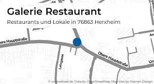 galerie restaurant oberhohlstraße in herxheim restaurants