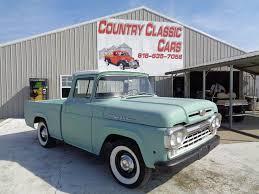 100 Autotrader Trucks 1960 Ford F100 For Sale Near Staunton Illinois 62088