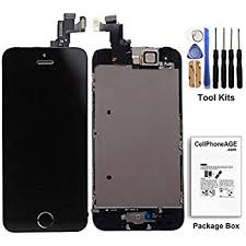 Amazon Cell Phone DIY Black Replacement Screen for Apple