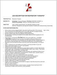 Respiratory Therapist Resume Objective Examples Amusing Samples With Rrt Epic