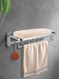 handtuch rack badezimmer wand montiert faltbare 304 edelstahl organizer handtuch halter für bad ausrüstung bad zubehör