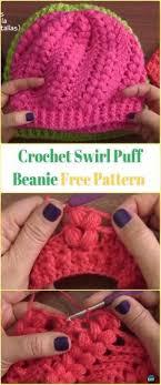 DIY Crochet Beanie Hat Free Patterns Baby Winter
