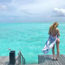 100 Reethi Rah Resort In Maldives Tara Lipinski Bikini Photoshoot One Only