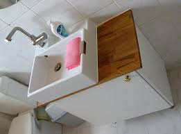 downstairs bathroom sink hack ikea hackers kitchen cabinet for