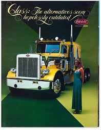 100 Peterbilt Model Trucks Rearview Ads Through The Years