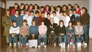 lycee pasteur mont roland photo de classe seconde de 1983 lycée polyvalent privé pasteur