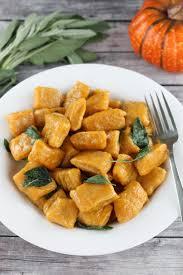 Pumpkin Gnocchi Recipe by Pumpkin Gnocchi With Brown Butter Sage Sauce Thestayathomechef Com