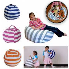 Stripe Bean Bag 18 Inch Beanbag Chair Kids Bedroom Stuffed Animal Dolls  Organizer Plush Toys Bags Baby Play Mat OOA4353 Designer Kids Bags Hand  Purses ... Nobildonna Stuffed Storage Birds Nest Bean Bag Chair For Kids And Adults Extra Large Beanbag Cover Animal Or Memory Foam Soft 7 Best Chairs Other Sweet Seats To Sit Back In Ehonestbuy Bags Microfiber Cotton Toy Organizer Bedroom Solution Plush How Make A Using Animals Hgtv Edwards Velvet Pouch Soothing Company Empty Kid Covers Your Childs Blankets Unicorn Stop Tripping 12 In 2019 10 Of Versatile Seating Arrangement