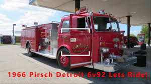 1966 6v92 Detroit Fire Truck Straight Pipe Ride Along! - YouTube Pirsch Apparatus 1950 1969 Kenosha Fire Engine 44 Peter Fo Flickr 1947 Studebaker M16 For Sale 2215030 Hemmings Motor News Department Equipment City Of Bloomington Mn Tom The Backroads Traveller Truck Mighty Truck In Georgetown Tx Atx Car Pictures Real History Stamford 1982 100 Ladder Oc Fire Trucks Pinterest Amazoncom 7 X 10 Metal Sign 1953 Trucks Vintage This Is One The Fine Old 1968 85 Aerial 102917 1748 Spmfaaorg From Lemay Family Collection