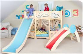 Bunk Bed With Trundle Ikea by Kids Loft Bed With Slide U2013 Bookofmatches Co