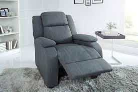 invicta interior relaxsessel grau stoff