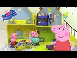 maison de peppa pig playhouse jouet pâte à modeler peppa cochon