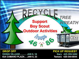 Seattle Christmas Tree Disposal 2015 by Christmas Tree Wreath Recycling U2013 Recycle Even More