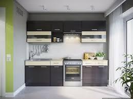 details zu eldorado küche alina wenge küchenzeile küchenblock einbauküche komplett küchen