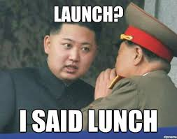 Launch I Said Lunch