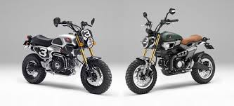 These Scrambler Style 50cc Honda Grom Scooters Wont Be Very Fast On Road They Motocross Competitors But Holy Crap Do Look Like Fun