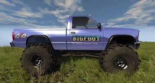 100 Bigfoot Monster Trucks WIP Beta Released DSeries BigFoot Truck Its Back BeamNG