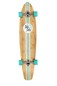 100 Reverse Kingpin Trucks 44Inch Artisan Longboard Made From Beautiful Bamboo