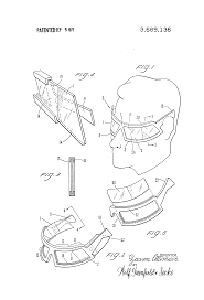 patent us3689136 sunglasses with reversible shade portions