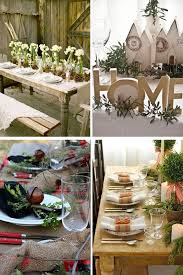 Christmas Table Decor From Around The Web