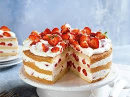 erdbeer zitronen torte rezept