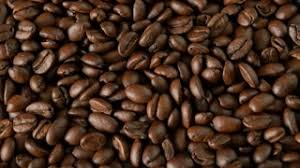 Roasted Coffee Beans Background Focus Pull