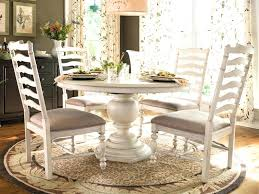 Distressed White Kitchen Table Dining Room Set Excellent Ideas Strikingly Idea
