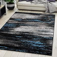 carpeto rugs teppich wohnzimmer kurzflor grau modern abstrakt muster öko tex 300 x 400 cm