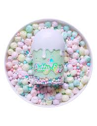 Unicorn Cereal Putty Egg