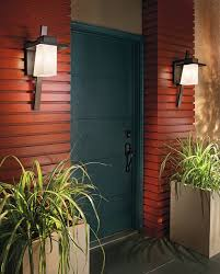 kichler 49258az one light outdoor wall mount wall porch lights