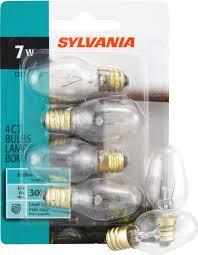 sylvania 13545 incandescent l c7 candelabra base 120v