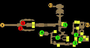 dungeon siege 3 map maps act 3 dungeon siege iii guide gamepressure com