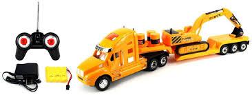 100 Rc Semi Trucks And Trailers Heavy Construction Trailer Remote Control RC Truck Ready