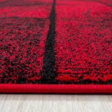 moderner designer wohnzimmer teppich rot