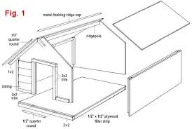 large duplex dog house construction guide free house plan reviews