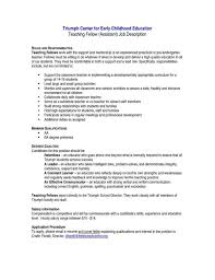 Enchanting Rhpaperweightdscom Sample And Sraddmerhsraddme Resume Examples For Preschool Teacher Assistant Page Rhyudhistroneco