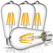 aliexpress buy dimmable led st64 4w 8w vintage edison bulb