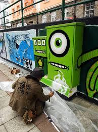 Famous Street Mural Artists by Street Art Les Incroyables Oeuvres Animées D U0027a L Crego Street