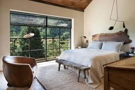moderne schlafzimmer mit rustikalem charme ideen und