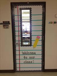 Top 25 Best School Door Decorations Ideas On Pinterest Class Creative Of Classroom With Window