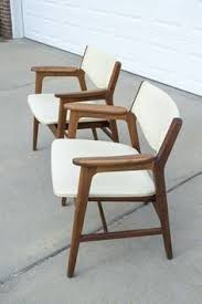 Wh Gunlocke Chair Co by Four Mid Century Bow Tie Ladder Back Chairs Yugoslavian Chairs