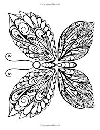 The Worlds Best Butterfly Coloring Book A Stress Management For Adults Penny